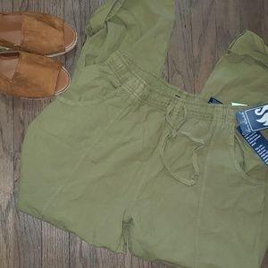Gloria Vanderbilt Casuals Cotton Drawstring Pants